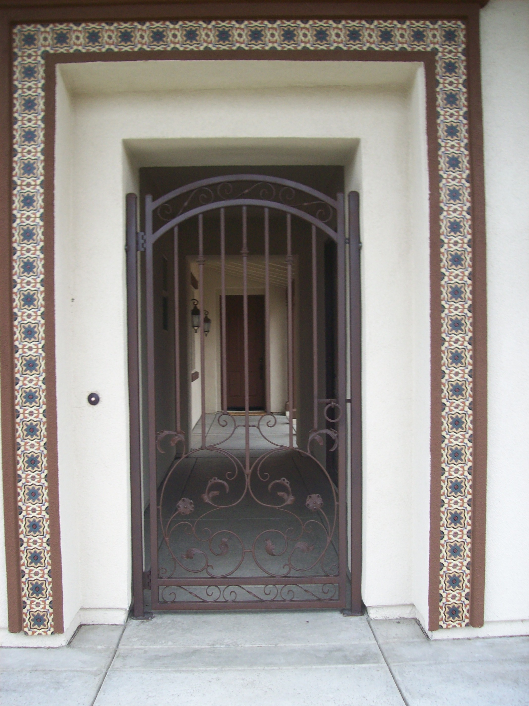 2848 #786253 Cole Fabrication Iron Works Sacramento CA. Home Page wallpaper Residential Security Screen Doors 6352134